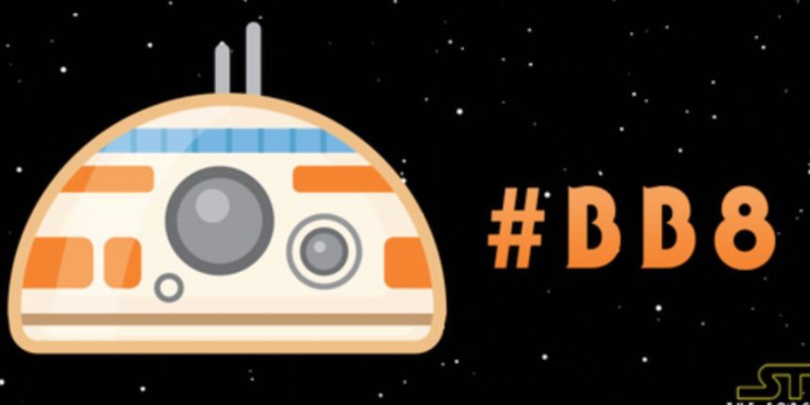 """Twitter celebró a esta saga con emojis especiales, entre ellos se encuentra """"BB8"""", para muchos, el nuevo """"R2D2"""" Foto:Twitter"""