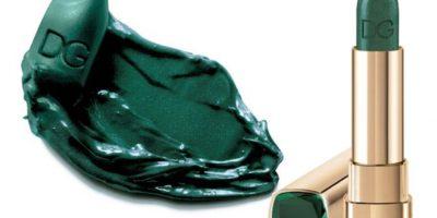 Pero el labial verde de Dolce & Gabbana, de edición limitada, probó que las mujeres se arriesgan ante propuestas novedosas. Ya está agotado, costaba 37 dólares. Foto:vía Sephora