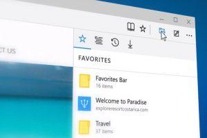 Las herramientas son mucho más ágiles y vienen incoorporadas en el navegador Foto:Microsoft