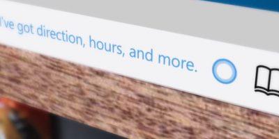 La asistente personal de voz Cortana por fin se incorpora al cliente web de Windows Foto:Microsoft