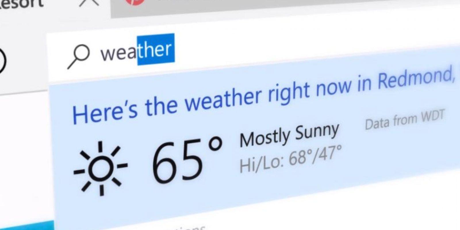 Cuando busquen tendrán un resultados en vista previa al instante Foto:Microsoft