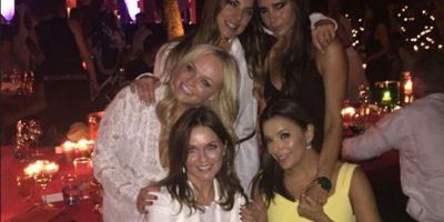 FOTOS: Las Spice Girls se reúnen para celebrar a David Beckham