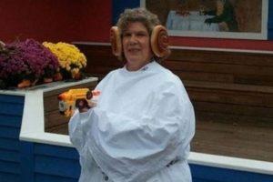 ¿Leia Organa, eres tú? Foto:unrealitymag