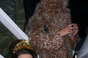 ¿Eres tú Chewbacca? Foto:costumepop