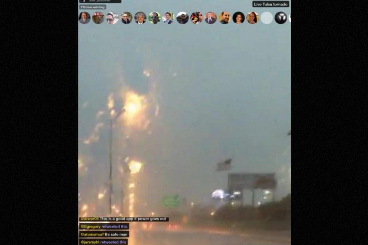 Así luce un streaming en Meerkat Foto:Twitter/Meerkat
