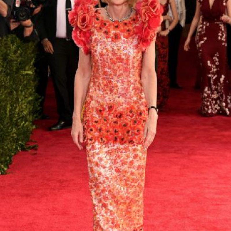 Parece que Karl Lagerfeld no la quiere. Foto:vía Getty Images