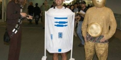 R2-D2 es ¿igualito? Foto:Reddit