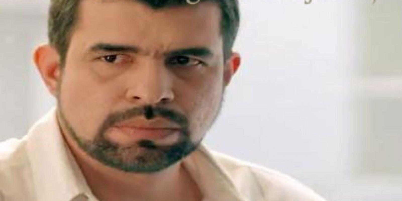 """Harold De Vasten era """"Gildardo González"""", basado en Gilberto Rodríguez Orejuela, jefe del """"Cartel de Cali"""", hermano de Miguel Rodríguez Orejuela y enemigo y rival de Pablo Escobar. Foto:vía Caracol Televisión"""