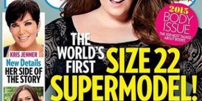 "¡Histórico! La modelo ""plus size"" Tess Holliday en la portada de ""People"""