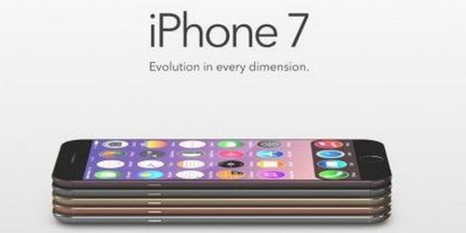 Posible nombre iPhone 7 Foto: Tumblr