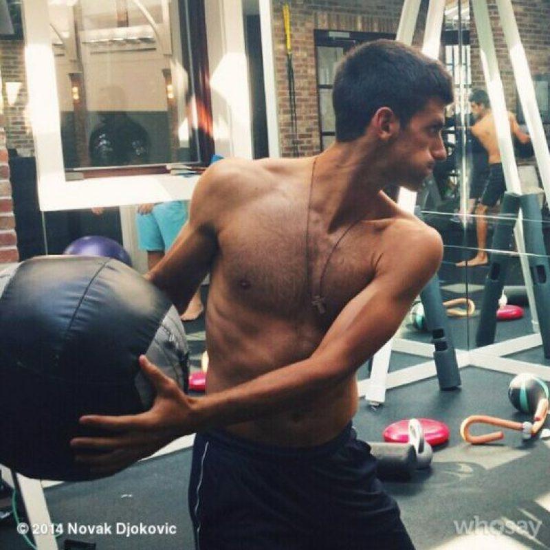 """Con 27 años, """"Nole"""" es el mejor tenista del mundo. Nació en Serbia y mide 1.88 m. Foto:Vía instagram.com/djokernole"""