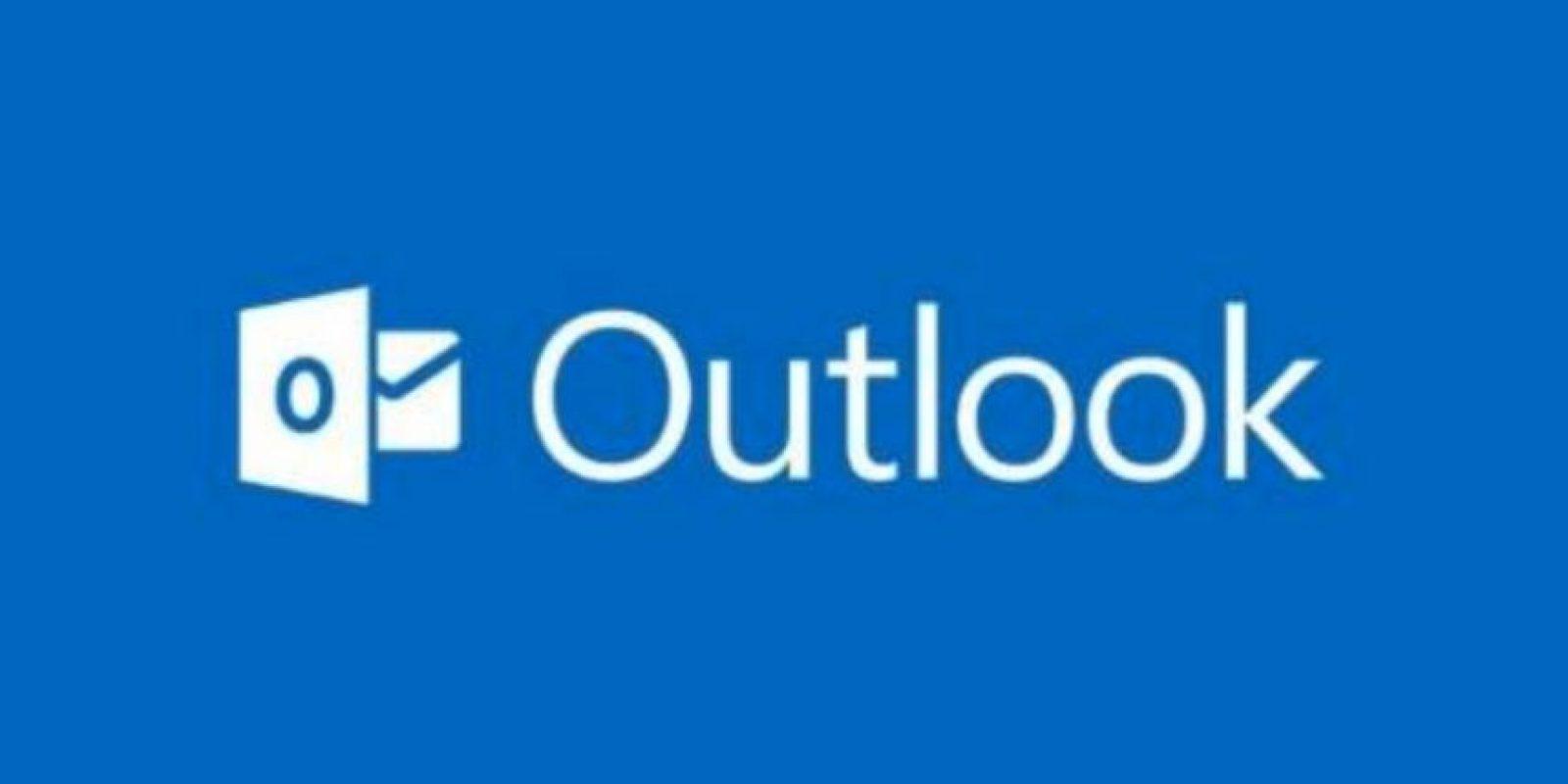 Microsoft ha tenido tres nombre para su servicio de email: MSN, Hotmail y ahora Outlook Foto:Microsoft