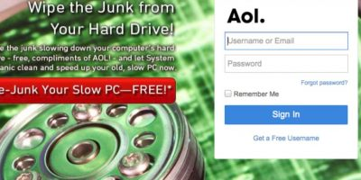 AOL comenzó a la par de servicios como MSN y Yahoo, pero no pudo mantener el ritmo de crecimiento Foto:AOL
