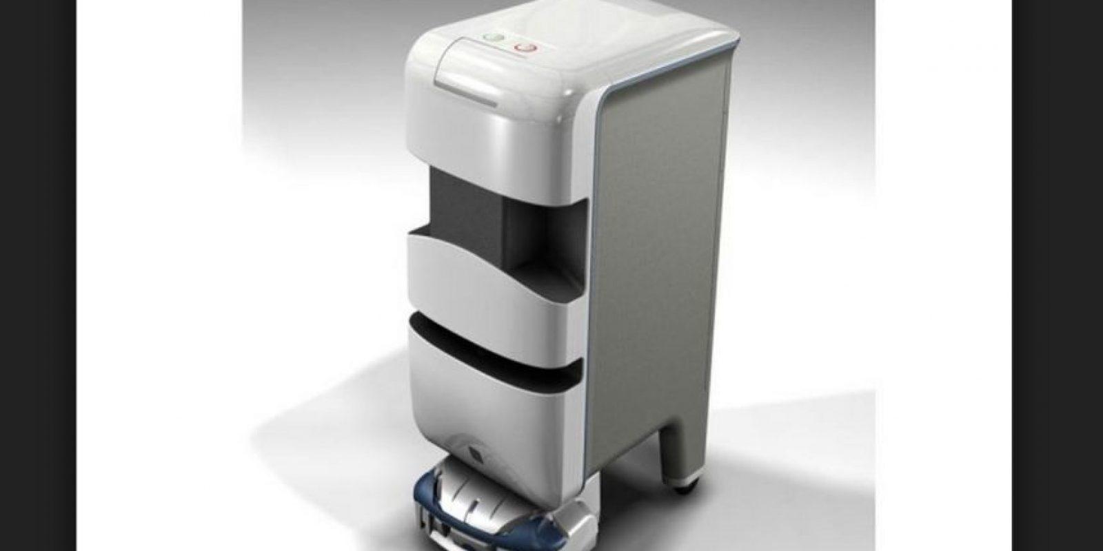 Aethon TUG es un sistema automatizado que permite con facilidad mover suministros como medicamentos, ropa y alimentos de un espacio a otro. Foto:Aethon