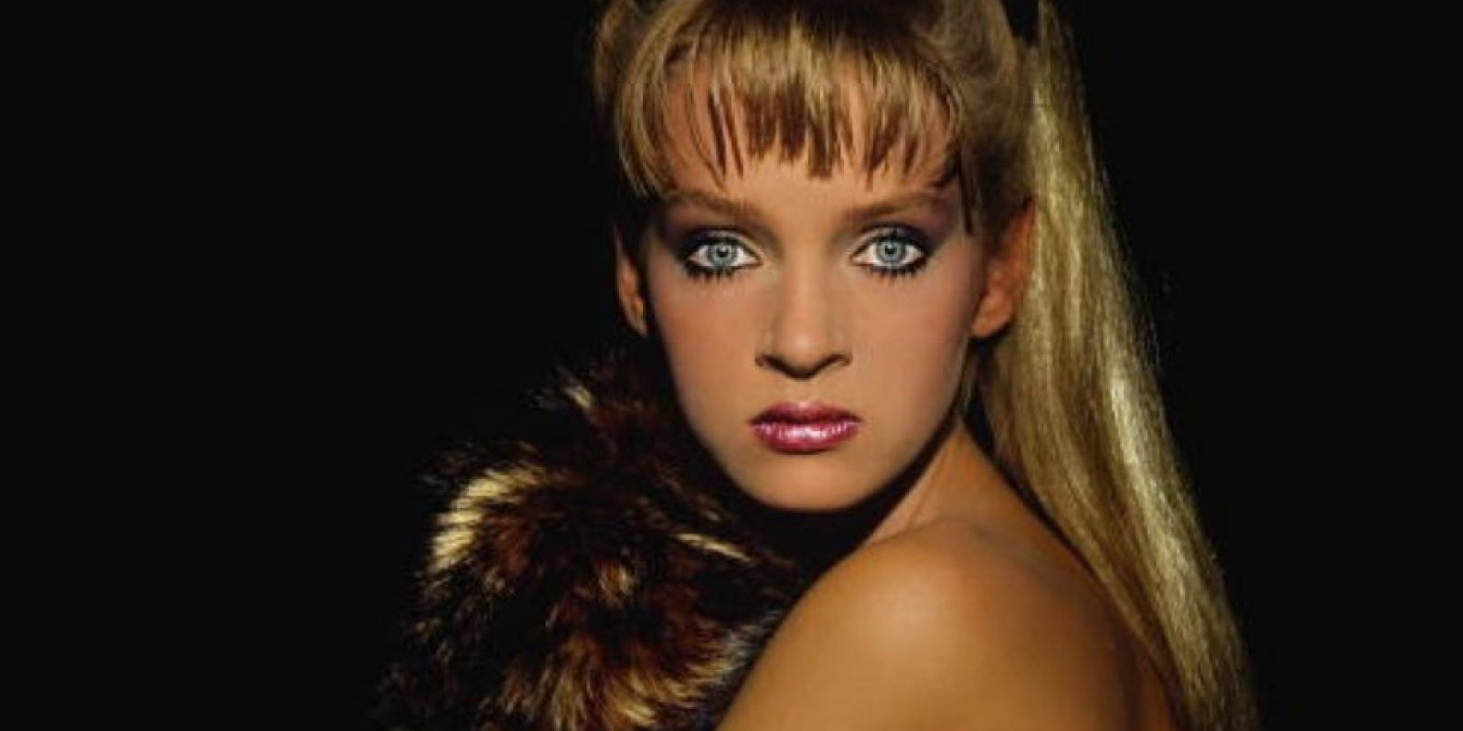 Uma Thurman comenzó a modelar en los años 80. Foto:vía Getty Images