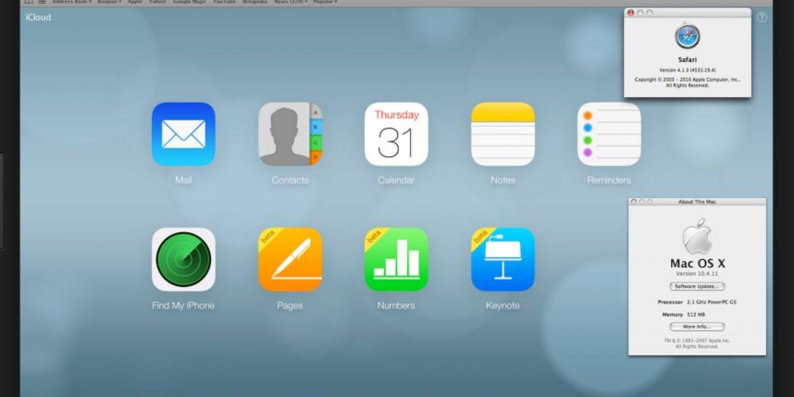 Safari es un navegador web de código cerrado desarrollado por Apple Inc. Foto:Wikicommons