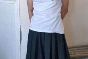 1. Lo multaron por vestirse como su novia y hacer el examen por ella Foto:Vía news_kz: vk.com/news_kz