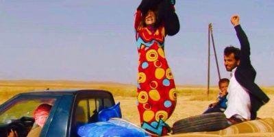 Así celebran las mujeres que escapan del Estado Islámico