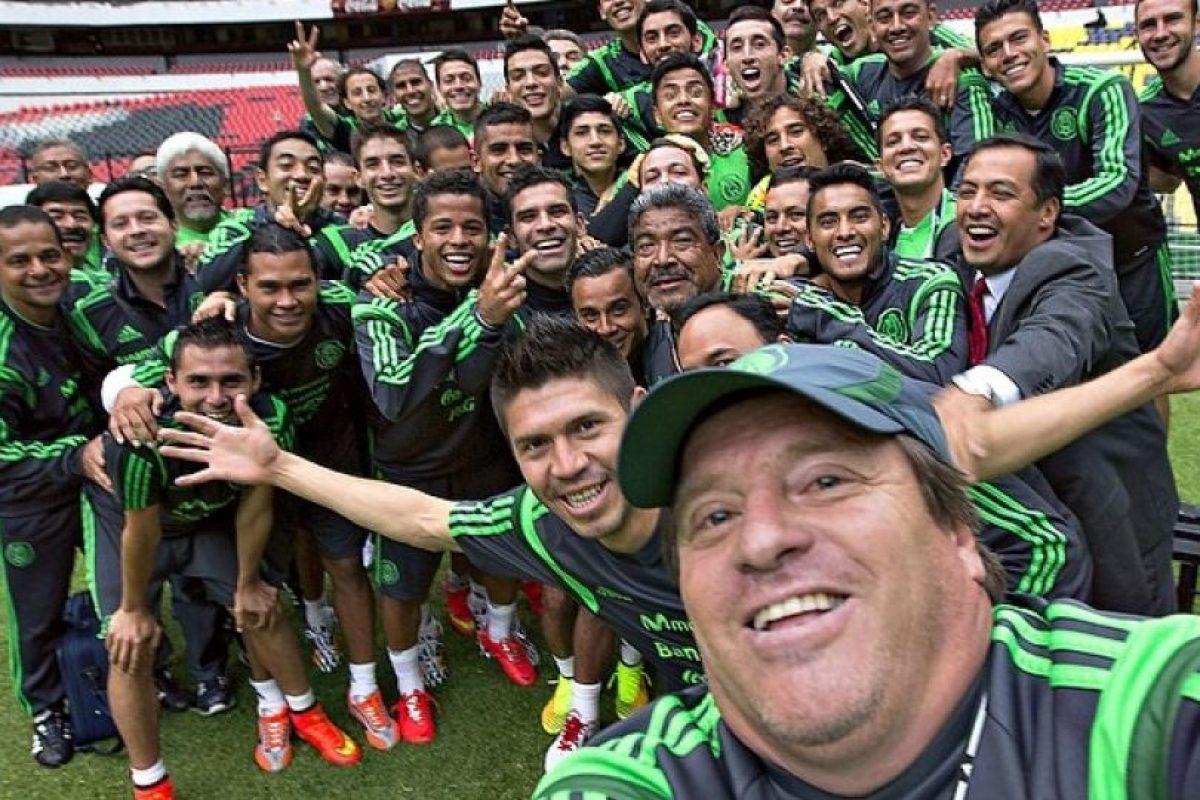 Twitter= MiguelHerreraDT (1.36 millones) | Instagram= miguelherreradt (82.3 mil) | Facebook = 1.2 millones. Foto:Vía instagram.com/miguelherreradt