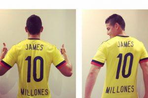 James Rodríguez (Colombia) Foto:Vía instagram.com/jamesrodriguez10