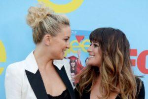 """Kate Hudson y Lea Michele: se conocieron en """"Glee"""" y Hudson apoyó a Lea luego de la muerte de Cory Monteith. La dejó quedarse en su casa e incluso la animó a traer familia y amigos. Siempre cuidaba de que sus cosas favoritas estuviesen en su refrigerador. Esto lo confesó Lea en una entrevista para la revista """"Elle"""". Foto:vía Getty Images"""