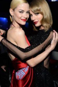 """Jamie King y Taylor Swift: es bien sabido que la cantante tiene un """"ejército de amigas"""" dispuestas a defenderla. Jamie es una de ellas. Foto:vía Getty Images"""