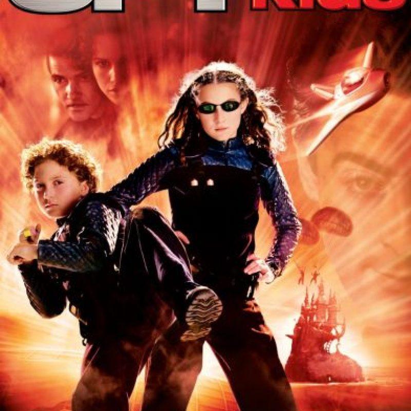 Ellos eran Carmen y Juni Cortez, los hijos de dos reconocidos espías. Ellos también se vuelven espías. Foto:vía Dimension Films