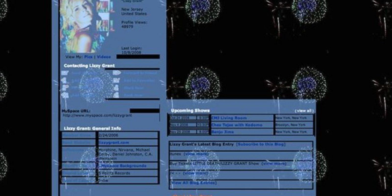 Una tipografía inentendible. Foto:vía MySpace