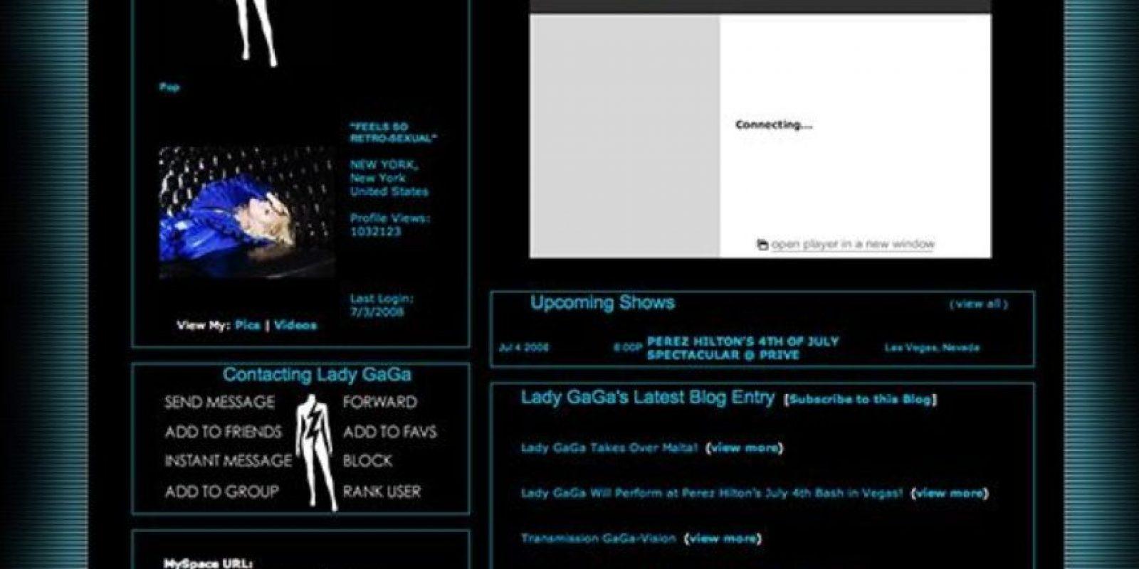Oscuro. Foto:vía MySpace
