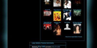 Aquí, sus amigos. Foto:vía MySpace