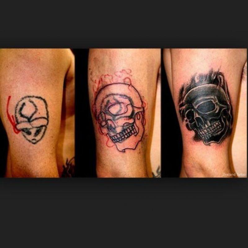 4. Una impresionante transformación Foto:Zealand Tattoo