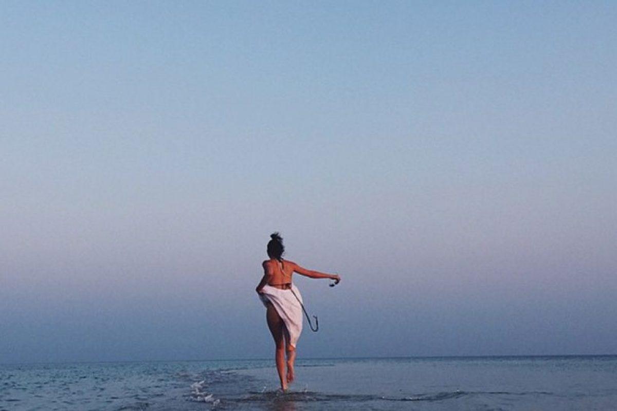 Siempre que sea al horizonte, sin gente. Foto:vía Instagram