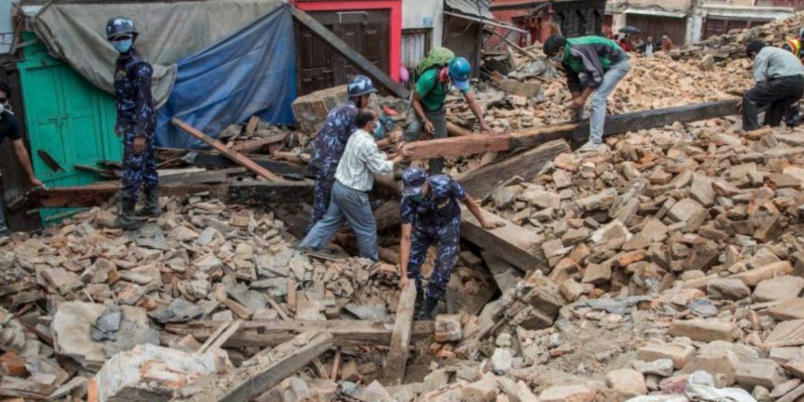 El terremoto que sufrió Nepal fue el 25 de abril. Foto:Getty Images