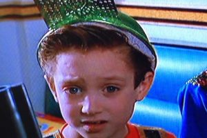 """9. Elijah Wood comenzó como modelo infantil y tuvo un pequeño papel en la tercera parte de """"Volver al Futuro"""". Foto:vía Amblin"""
