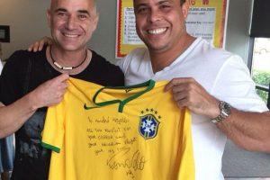 """Y es que el exgoleador brasileño nominó a """"Lucho"""" como uno de los posibles """"MVP"""" de la Copa América de Chile 2015. Foto:Vía instagram.com/ronaldolima"""