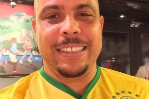 Al crack brasileño se le fue este dato durante una entrevista para la televisión. Foto:Vía instagram.com/ronaldolima