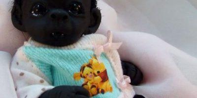 FOTOS: El bebé más oscuro del mundo, el juguete que fue tendencia en redes