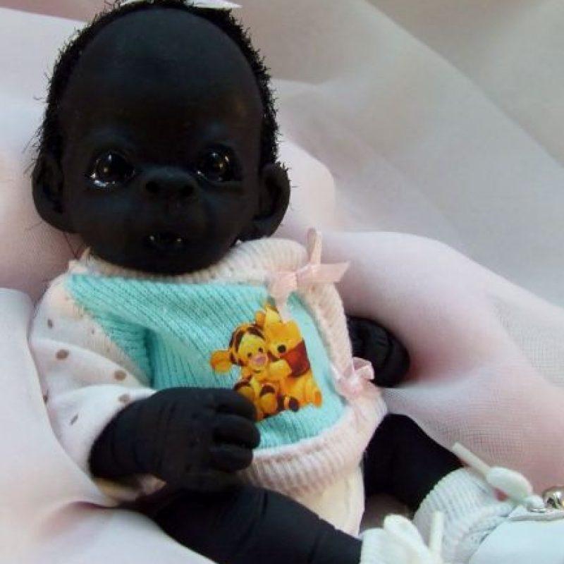 Esta imagen el día de ayer desató una gran polémica racista en redes. Foto:vía eBay