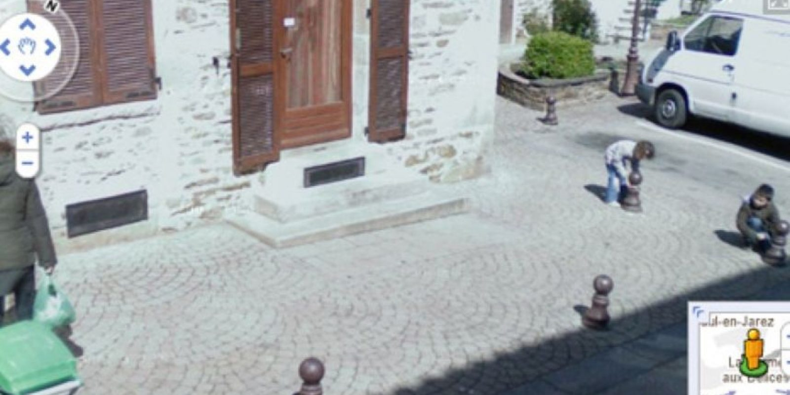Niños bromistas Foto:Google Street View