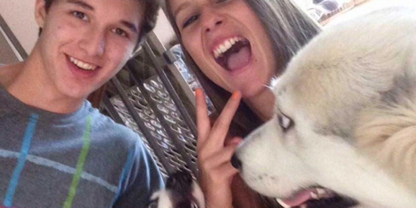 Esta es su amiga Kasia Szymanski, quien lamentó la muerte de Cook en los medios locales. Foto:https://www.facebook.com/kasia.szymanski.1/photos