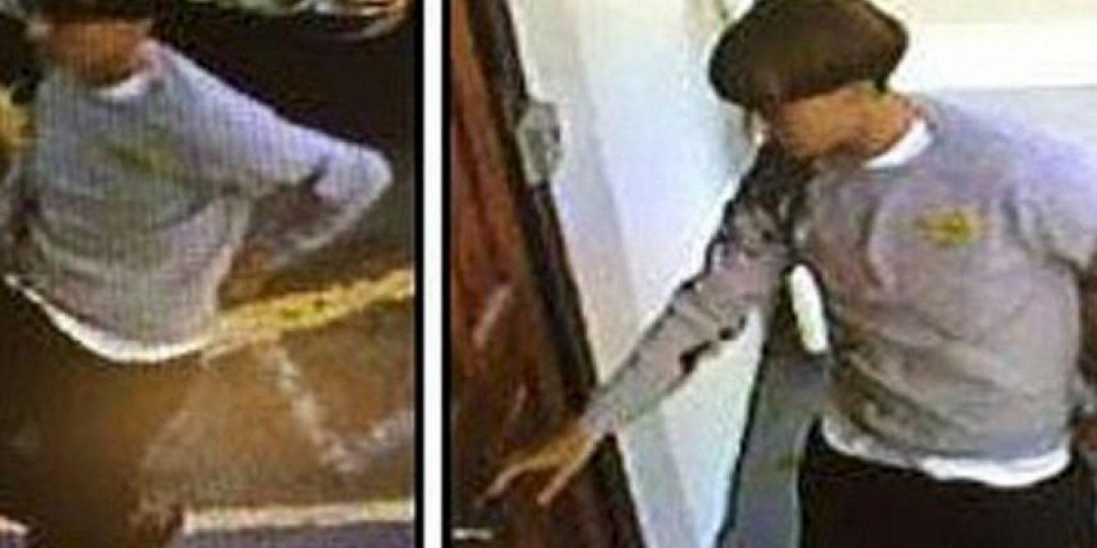 La policía difundió sus fotografías para encontrarlo más rápido. Foto:Policía Estados Unidos