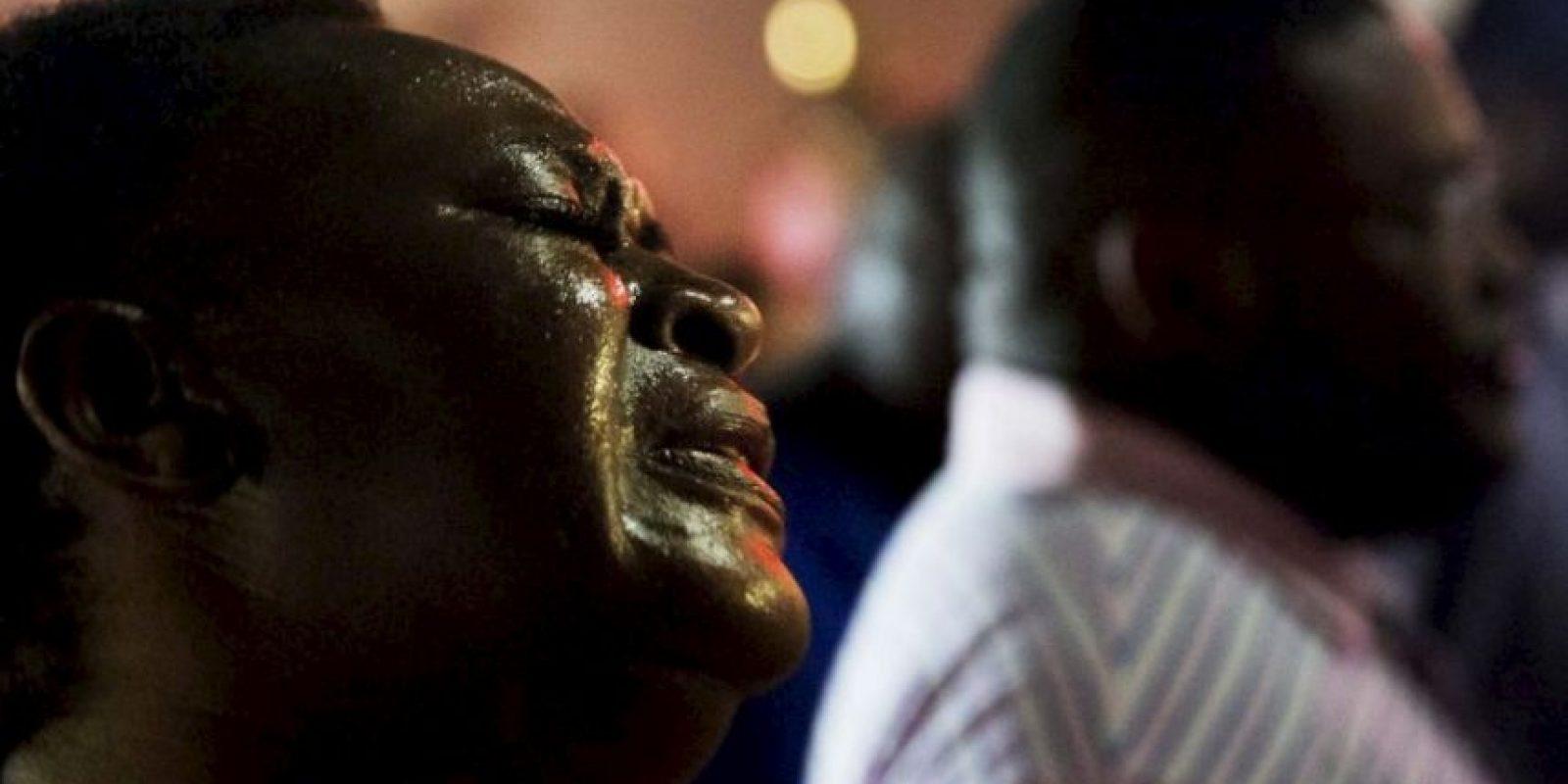 La masacre fue en una iglesia de California del Sur Foto:AP