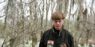 Dylann Roof, un joven de 21 años es el principal sospechoso del ataque. Foto:Polícia de Estados Unidos