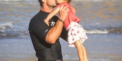 Esta es la chica a la que Chris Hemsworth más besos le da. Foto:Instagram