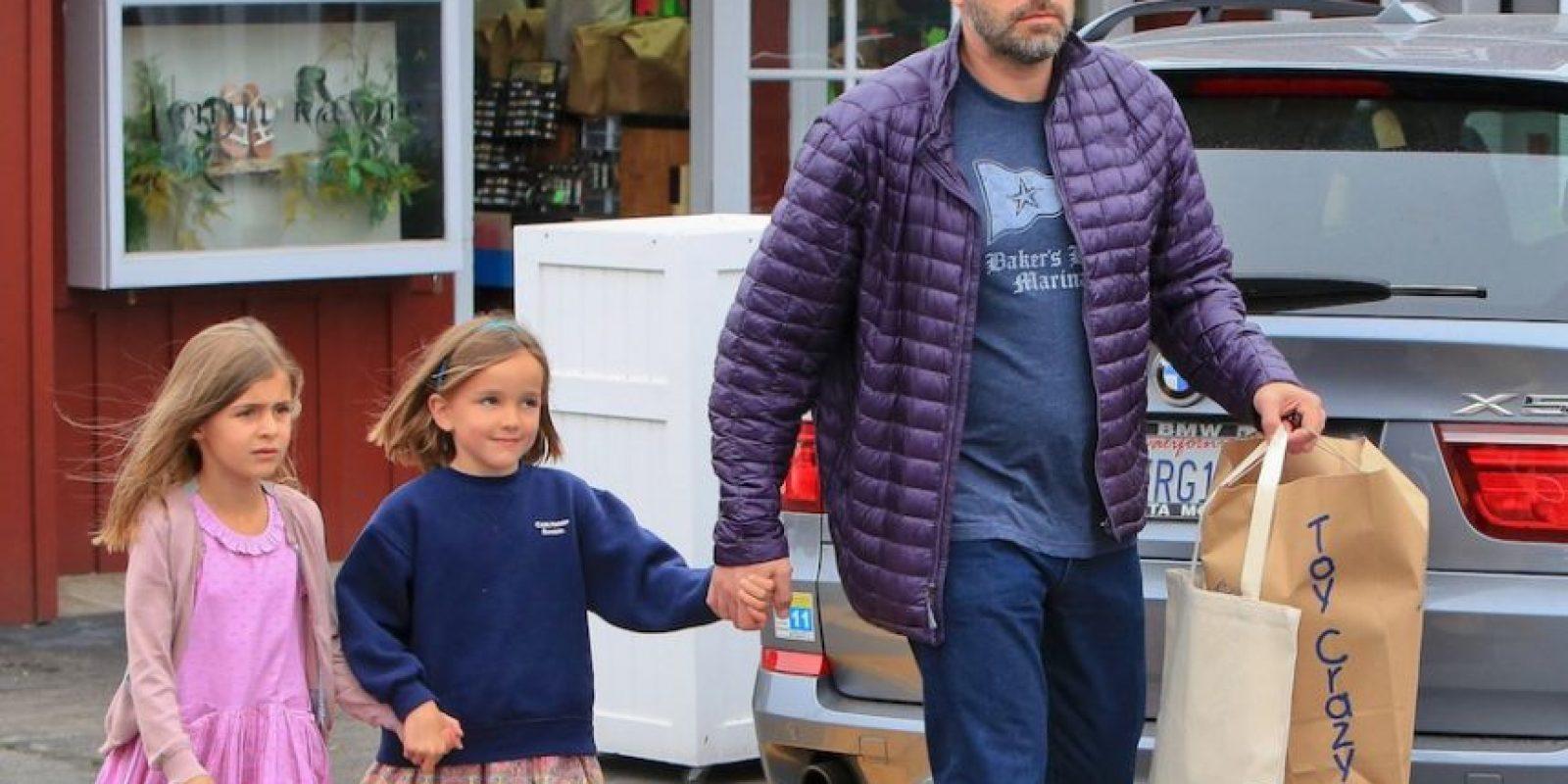 Sus hijas se llaman Seraphina y Violet. Foto:Grosby Group