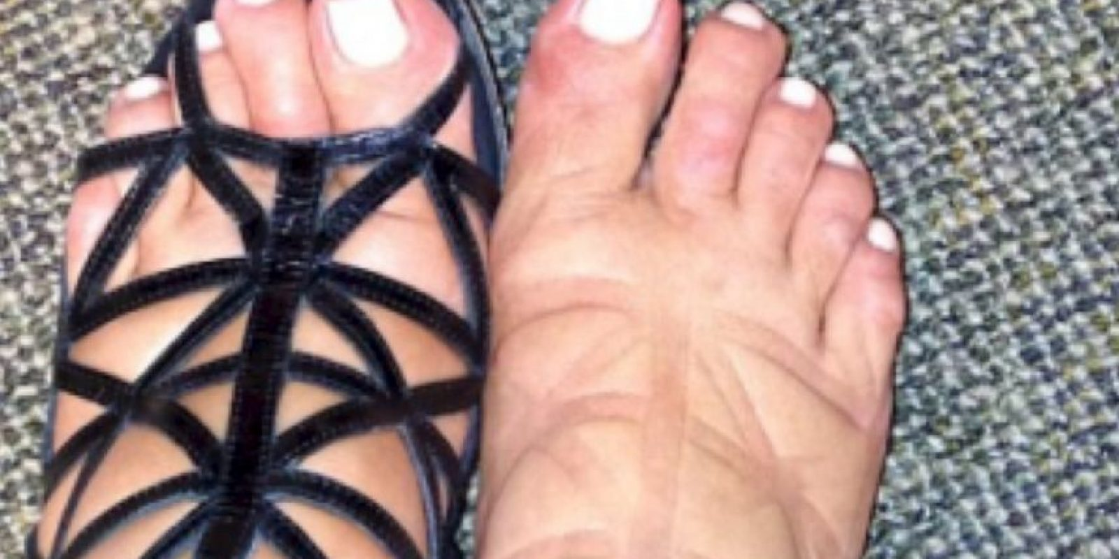10. Tampoco crucen las piernas: esto también provoca inflamación. Foto:vía Instagram/Kim Kardashian