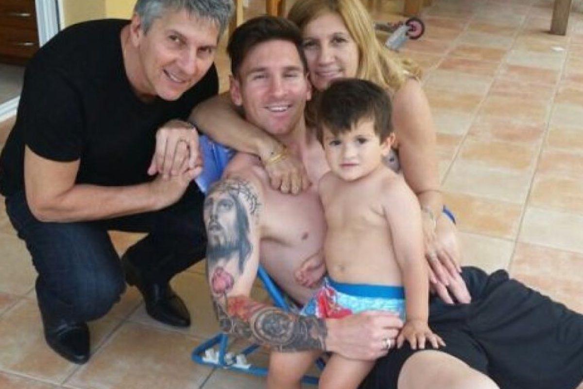 Lionel Messi se relajó con su familia antes de la Copa América Foto:Via instagram.com/leo Messi