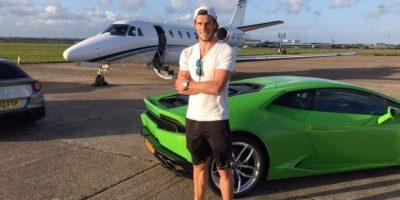 Gareth Bale presume su auto de lujo Foto:Vía instagram.com/garethbale11