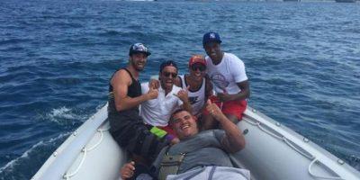 """Lindo bote, ¿eh?"", escribió Cristiano Ronaldo Foto:Vía instagram.com/cristiano"