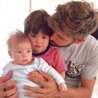 Milan y Sasha son los nombres de sus dos pequeños, los cuales se han convertido en su inspiración. Foto:Vía instagram.com/3gerardpique